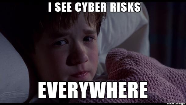 Cyber risks meme